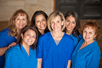 dentists office staff 78251